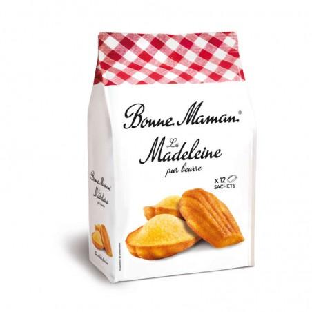Madeleines au beurre frais 300g BONNE MAMAN