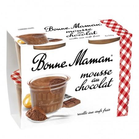 Mousse au Chocolat 4x50g BONNE MAMAN