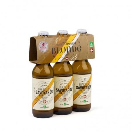 Bière Blonde 5° Bio 3x33cl Brasseurs Savoyards