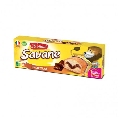 Savane chocolat pocket 189g BROSSARD