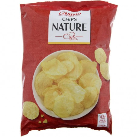 Chips Nature 200g CASINO