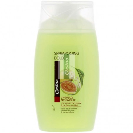 Shampooing doux cheveux normaux 100ml CASINO