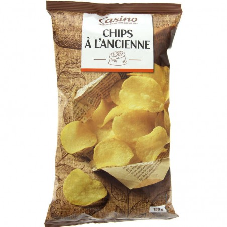 Chips à l'ancienne 150g CASINO