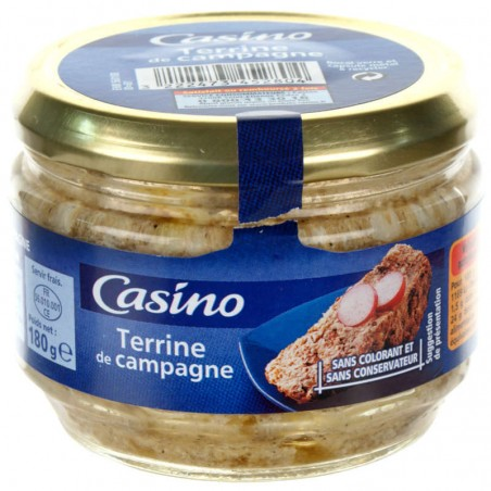 Terrine de campagne 180g CASINO