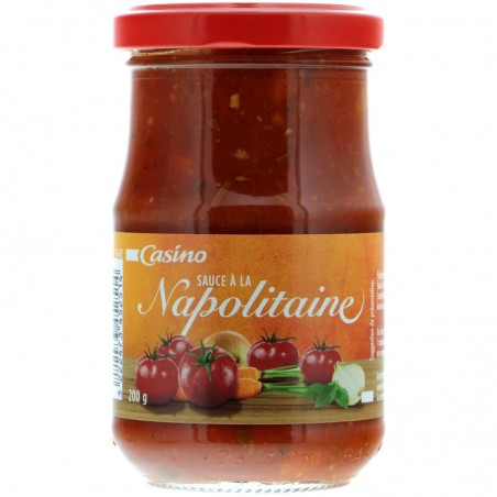 Sauce napolitaine 200g CASINO