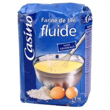 Farine de blé Fluide 1kg CASINO