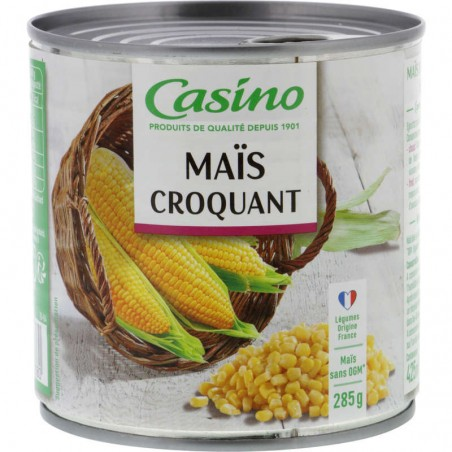 Maïs croquant 285g CASINO