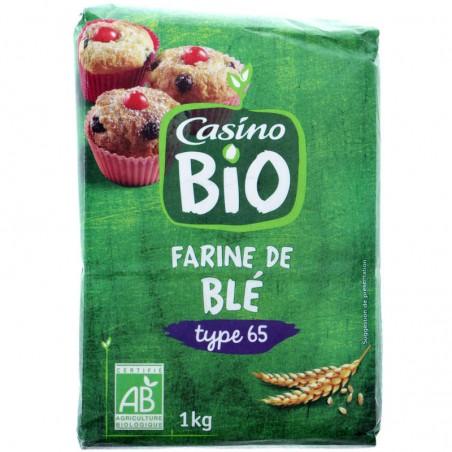 Farine de blé Bio 1kg CASINO BIO