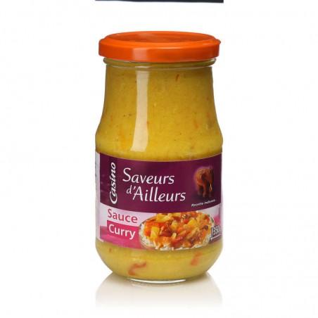 Sauce Curry 350g CASINO SAVEURS D'AILLEURS