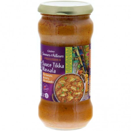 Sauce Tikka Massala 350g CASINO SAVEURS D'AILLEURS