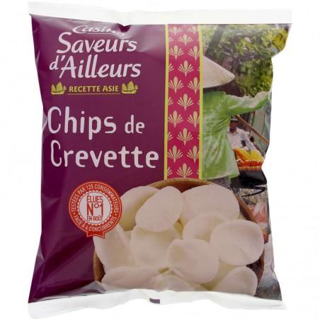 Chips de crevettes 75g CASINO SAVEURS D'AILLEURS