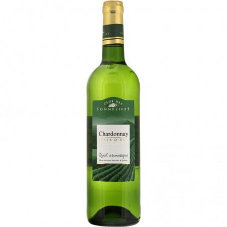 Pays d'Oc Chardonnay Blanc IGP 75cl CLUB DES SOMMELIERS