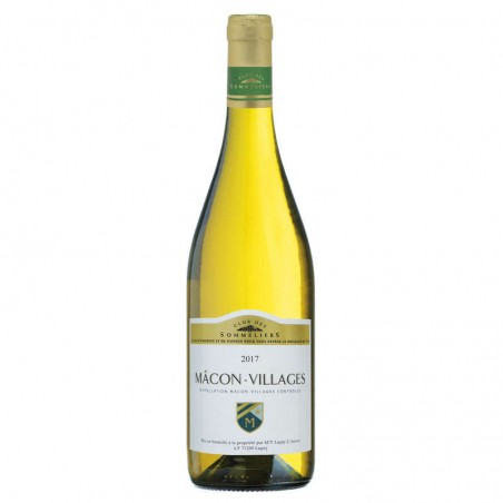 Macon Villages Blanc 75cl CLUB DES SOMMELIERS