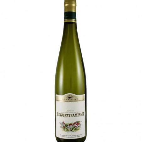 Alsace Gewurztraminer Blanc 75cl CLUB DES SOMMELIERS