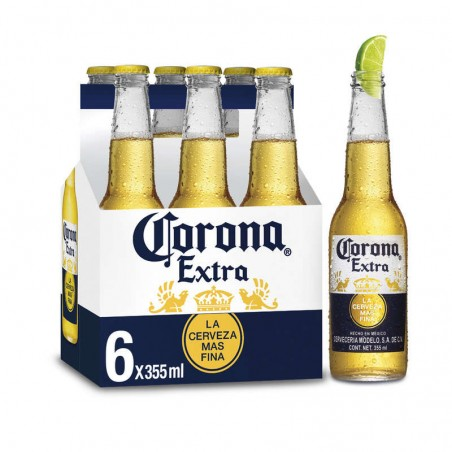 Bière mexicaine 4.6° 6x35.5cl CORONA