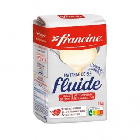 Farine de blé fluide 1Kg FRANCINE