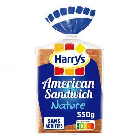 Pain de mie Américan Sandwich 550g HARRY'S