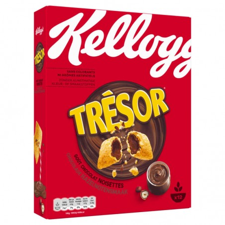Céréales Trésor Chocolat Noisettes 375g KELLOGG'S