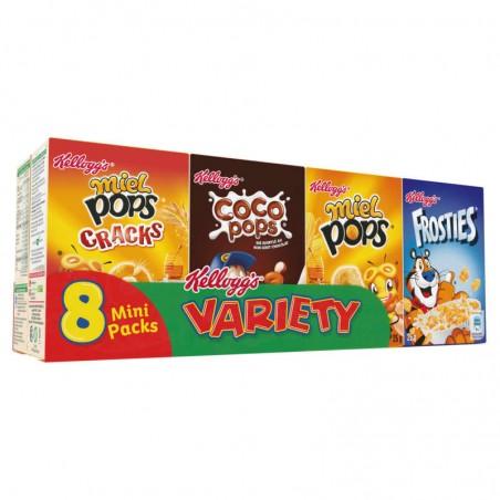 8 mini-paquets de céréales 215g KELLOGG'S