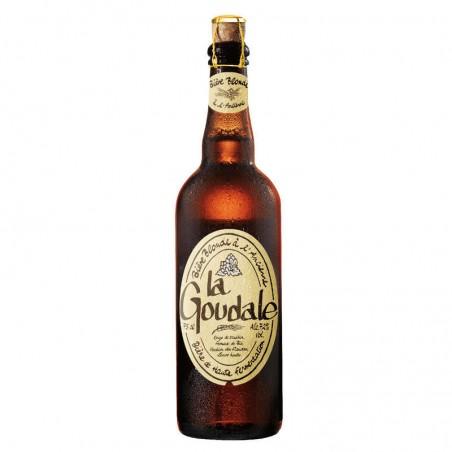 Bière de garde blonde 7.2° 75cl LA GOUDALE
