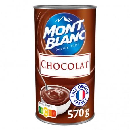 Crème Chocolat 570g MONT BLANC