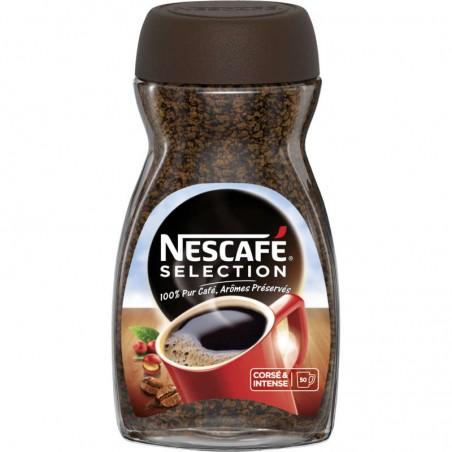 Café soluble sélection 100g NESCAFE