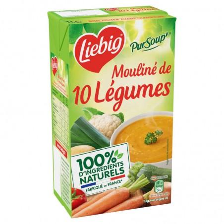 Mouliné de 10 légumes variés 1L PURSOUP'