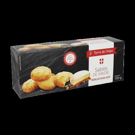 Biscuits au Reblochon Le paquet de 100g TERRE DE L'ALPE