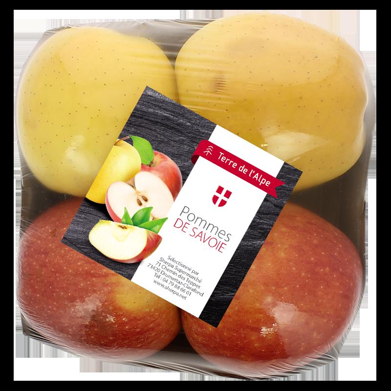 Pommes de Savoie Mixte La barquette de 4 TERRE DE L'ALPE