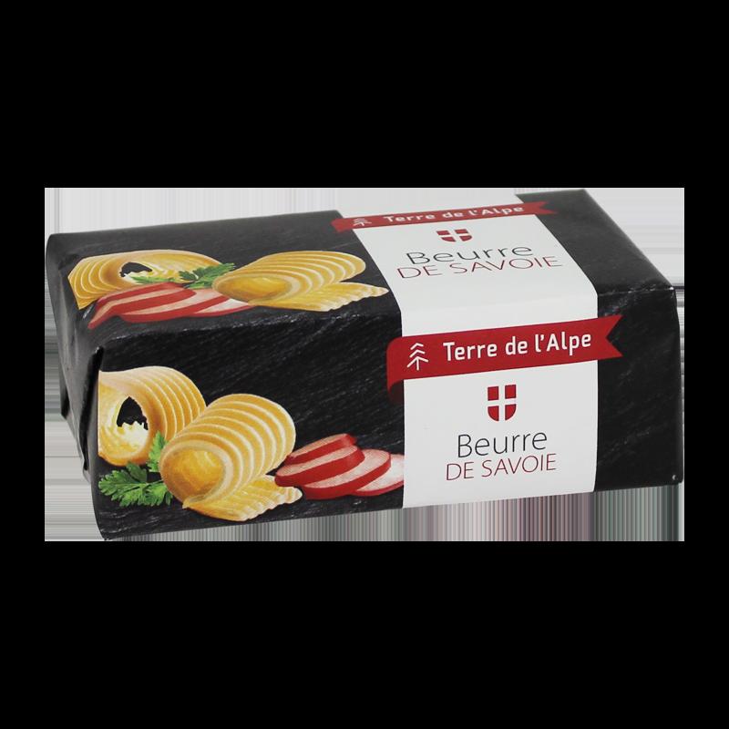 Beurre de Savoie La plaque de 250g TERRE DE L'ALPE