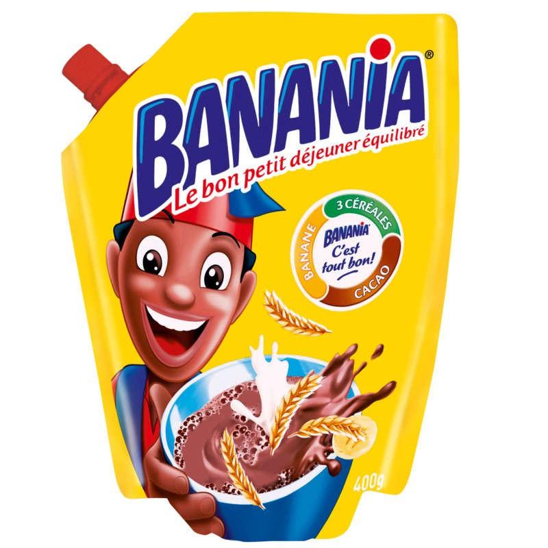 BANANIA Petit déjeuner instantané 400g
