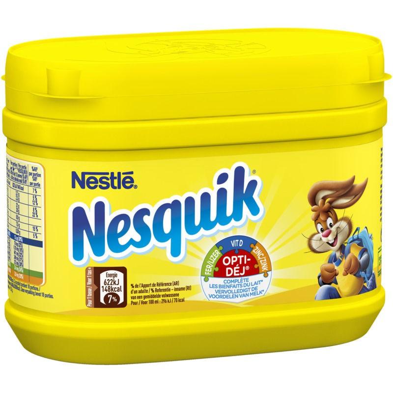 NESTLE Nesquik - Poudre boisson instantanée cacaotée 250g