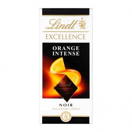 LINDT Chocolat Excellence Noir Orange 100g