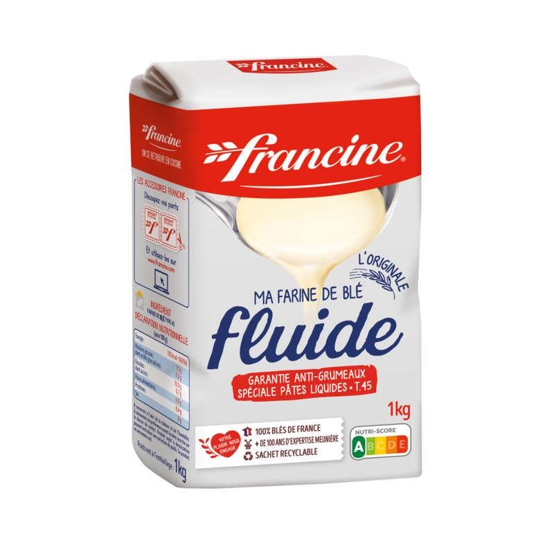 FRANCINE Farine de blé fluide 1Kg