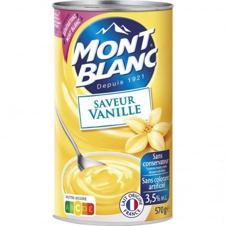 MONT BLANC Crème Vanille 570g