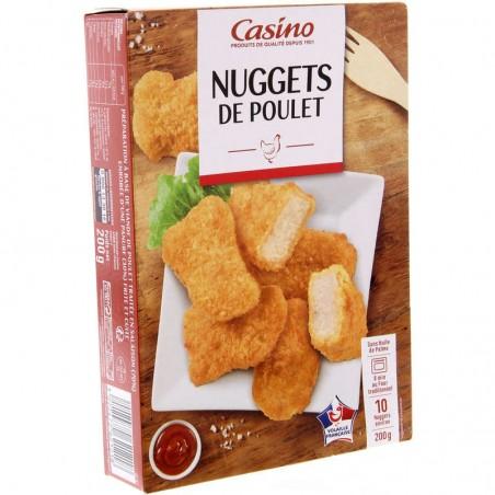 CASINO Nuggets de poulet 200g