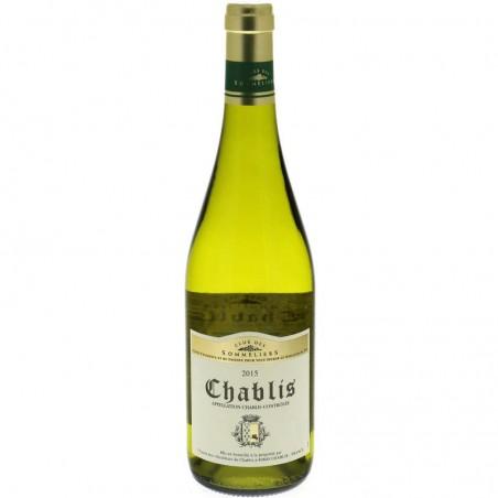 CLUB DES SOMMELIERS Chablis Blanc 75cl
