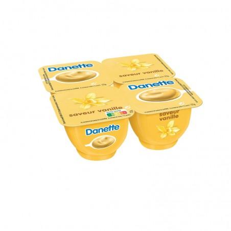 DANONE Crème dessert saveur Vanille 4x125g