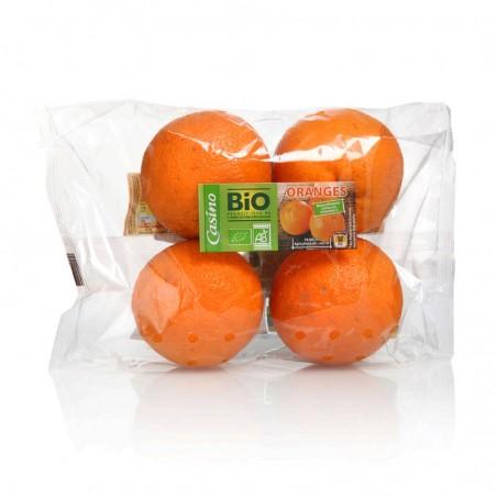 CASINO BIO Oranges Bio - ESPAGNE Cat2 1 Kg