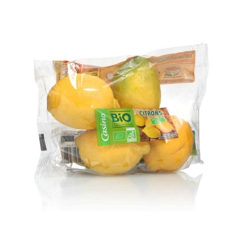 CASINO BIO Citron Jaune Bio - ESPAGNE Cat1 500g