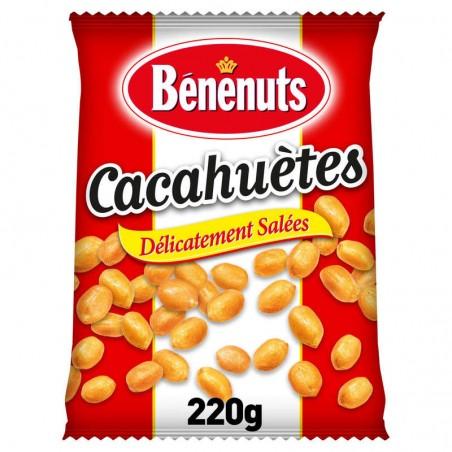 BENENUTS Cacahuètes Grillées 220g