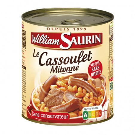 WILLIAM SAURIN Cassoulet 840g