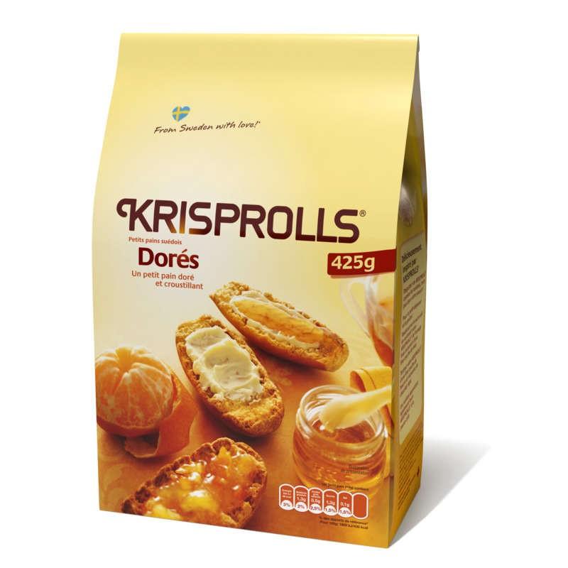 KRISPROLLS Pain Doré 425g
