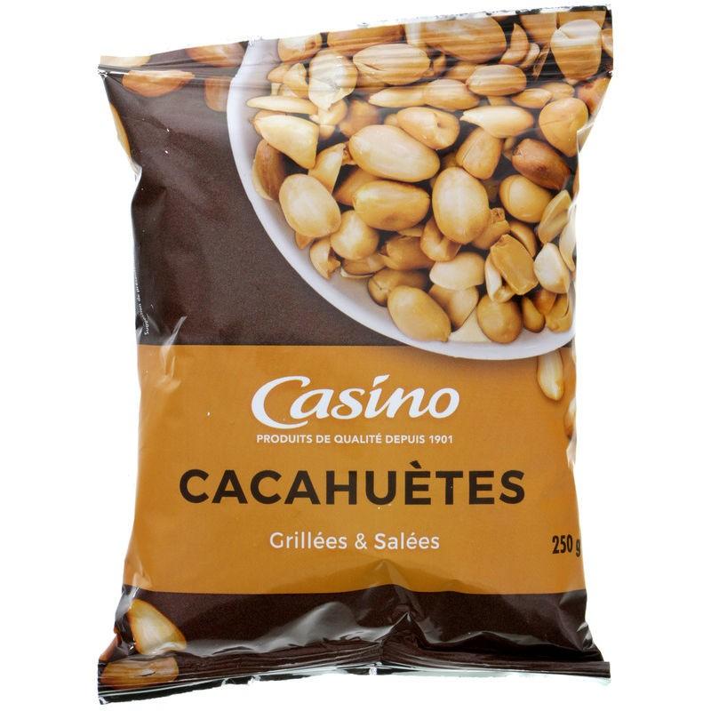 CASINO Cacahuètes grillées et salées 250g Casino 250g