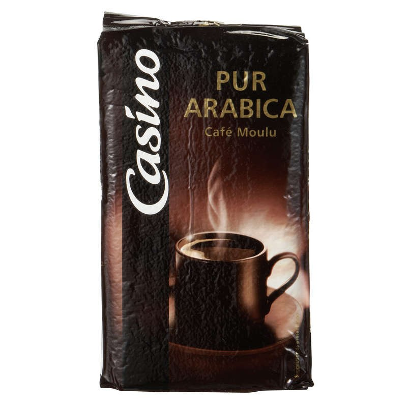 CASINO Café moulu Pur Arabica Classique 250g