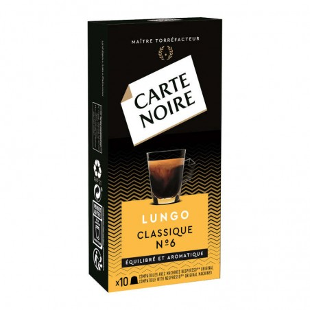 CARTE NOIRE Café Lungo en capsules 56g