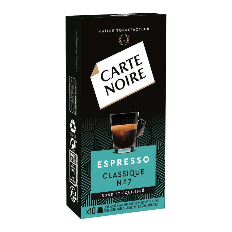 CARTE NOIRE Expresso classique intensité 7 en capsules 53g