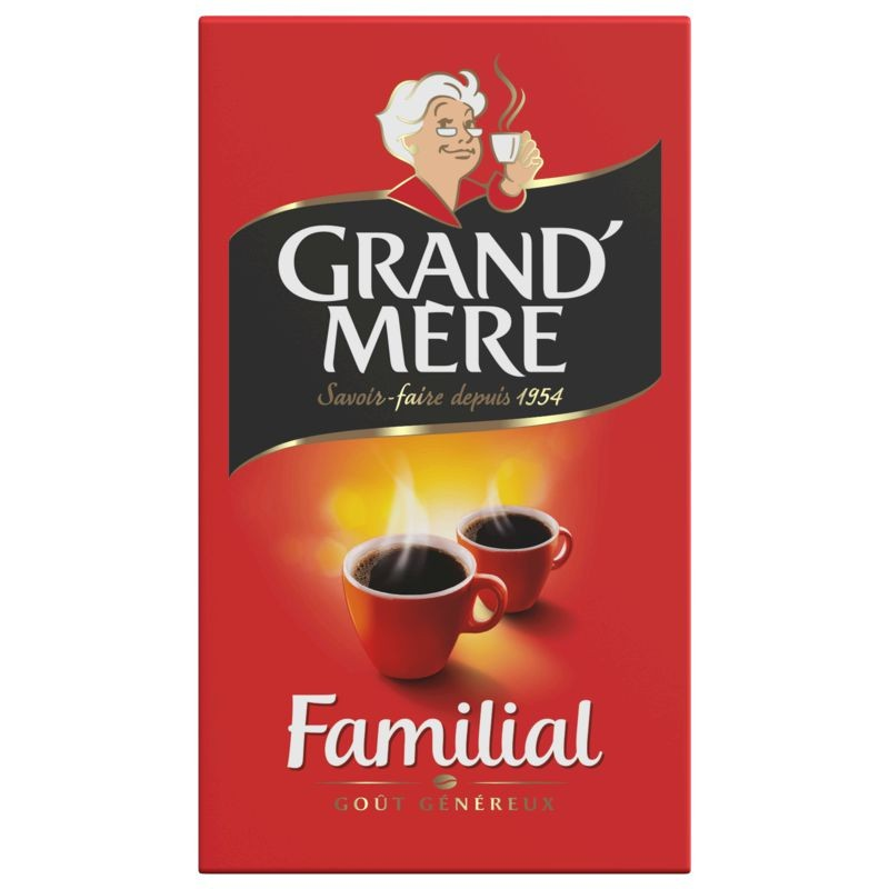GRAND MERE Café Familial Moulu 250g