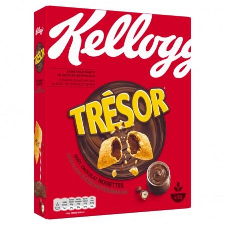 KELLOGG'S Céréales Trésor Chocolat Noisettes 375g