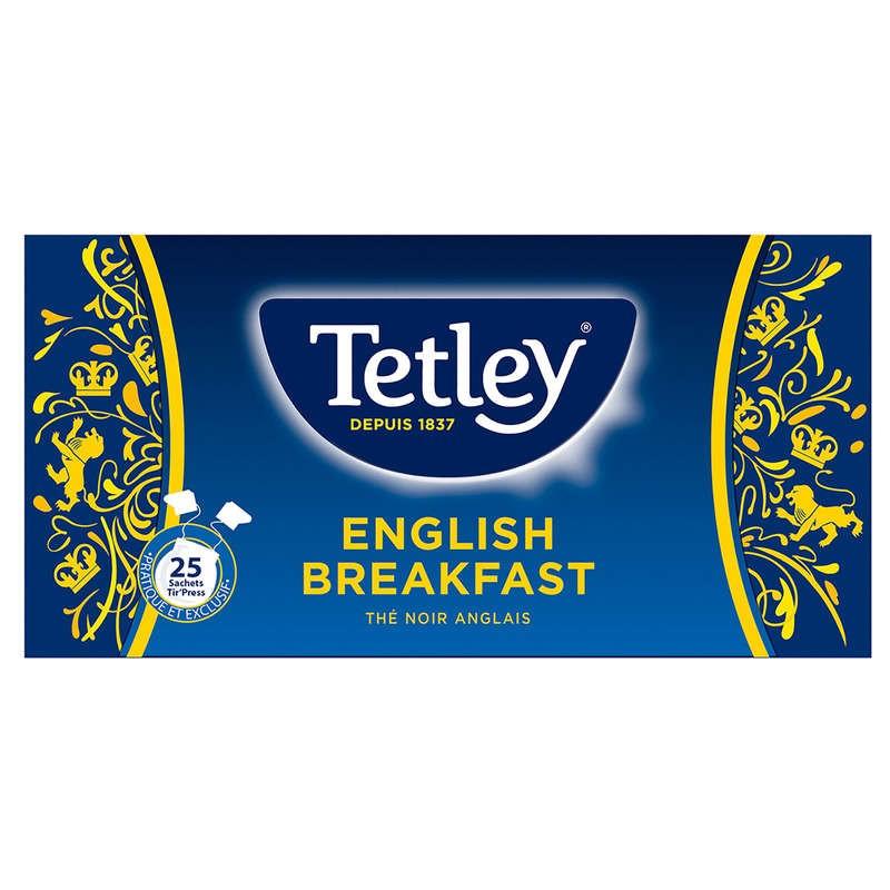 TETLEY Thé anglais english breakfast 50g